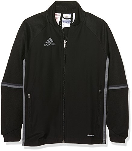 adidas Kinder Trainingsjacke Condivo 16, Black/Vista Grey, 164