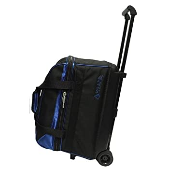 Pyramid Prime Double Roller Bowling Bag  Royal Blue