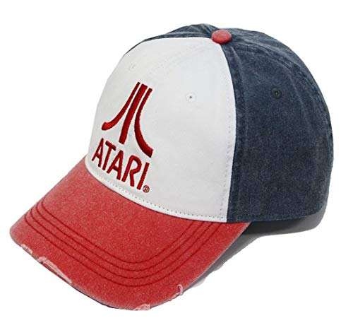 Atari Baseball Cap Classic Logo Kappe Vintage Trucker Style OneSize