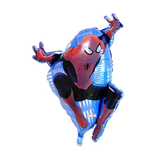 gzynyl Globos Ballon para Suministros de cumpleaños de niño (Color : Spiderman)