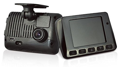 Vacron vvg-cls02, FullHD Single Lens Car Black box/Car DVR Recorder, sensore G, LCD 6,3cm, 16GB SD Card included, fino a 128GB di sostegno