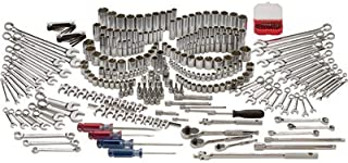 Klutch Mechanic's Tool Set - 305-Pc. 1/4in.-, 3/8in.- and 1/2in.-Drive, SAE and Metric