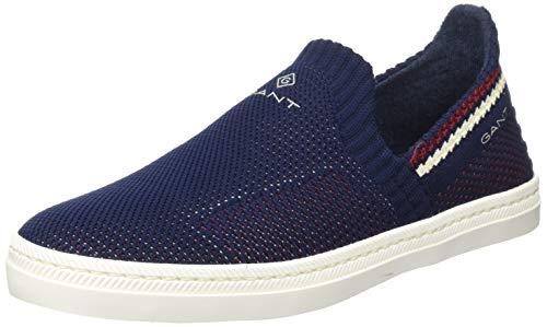 GANT Footwear Herren POOLRIDE Slipper, Blau (Marine G69), 43 EU