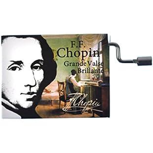 """Fridolin 58447"""" Chopin Grande Valse Brillante Music Box:Ege17ru"""
