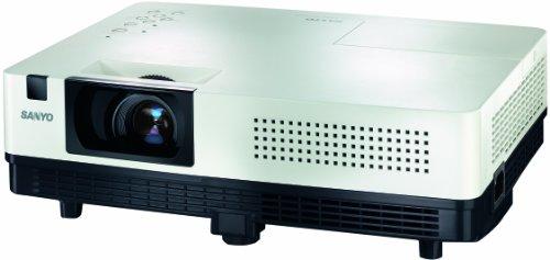 Sanyo PLC-XK2200 Beamer 2200 ANSI Lumen LCD XGA (1024x768) zwart, wit - Beamer (2200 ANSI Lumen, LCD, XGA (1024x76), 2000:1, 1016 – 7620 mm (40 – 300 inch), 85%