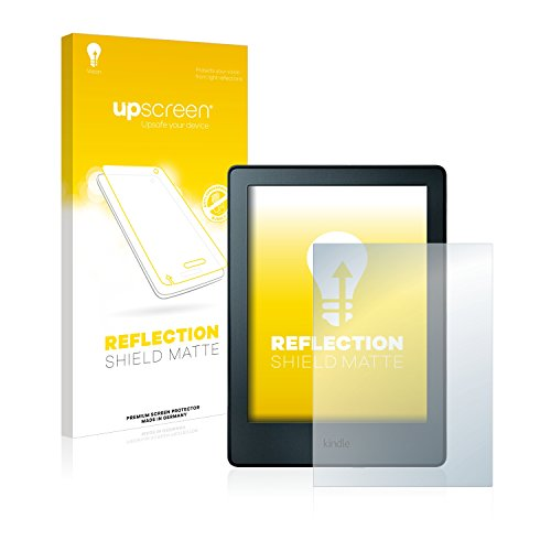 upscreen Entspiegelungs-Schutzfolie kompatibel mit Amazon Kindle 2016 (8. Generation) – Anti-Reflex Displayschutz-Folie Matt