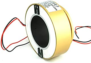 1 pcs lot Through Hole Conductive Slip Ring Cable Reel Shaft Ring 85mm Control Signal Conductive Slip Ring