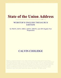State of the Union Address (Webster's English Thesaurus Edition)