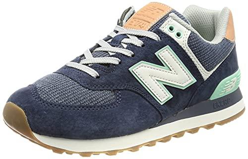 New Balance 574, Zapatillas Mujer, Natural Indigo, 39 EU
