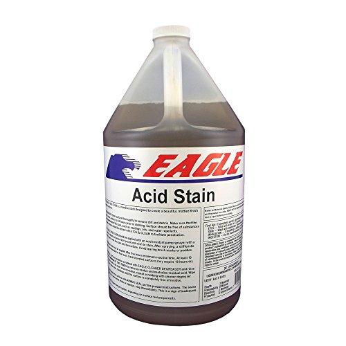 Eagle Sealer EDACO Brown Cocoa Acid Stain, 1 gal Jug,(Not Sold in HI, PR, AK, GU, VI)