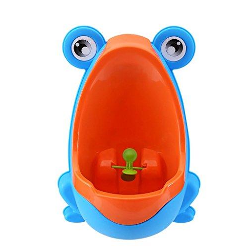 Kunststoff-Urinal für Jungen, tragbar himmelblau