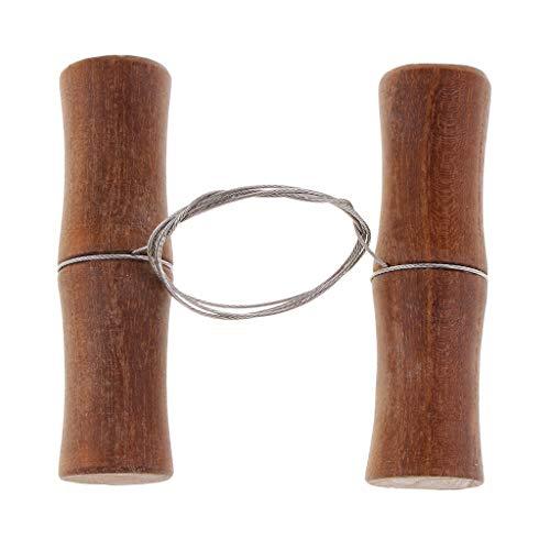 P Prettyia 1 Stück Holzgriff Modellierwerkzeug Töpferwerkzeug Tonschneider Drahtschlinge für Käse Werkzeug