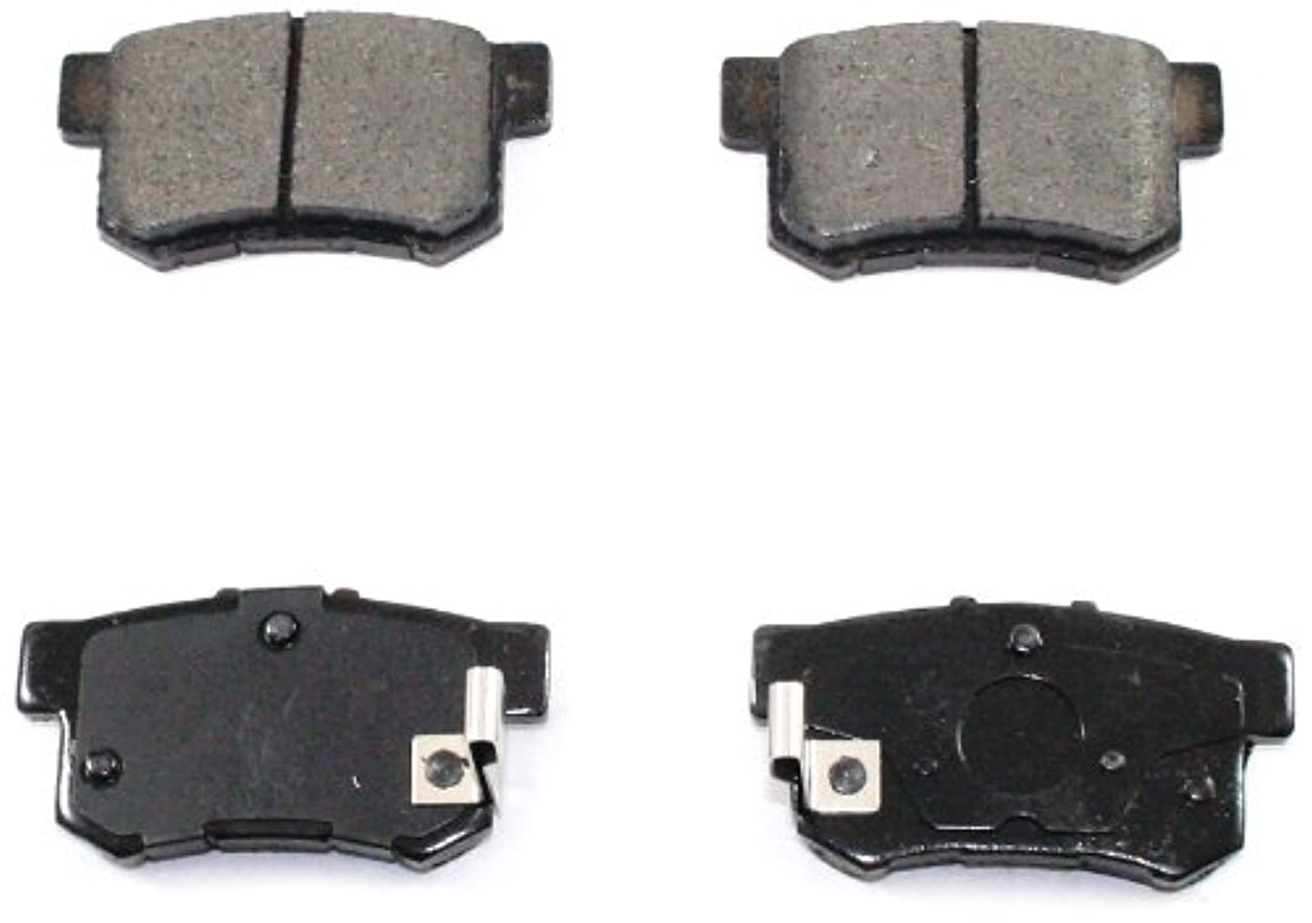 DuraGo BP537 MS Rear Semi-Metallic Brake Pad