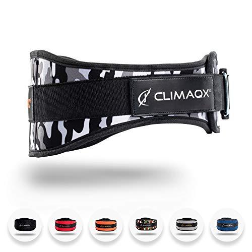 Climaqx Gamechanger Gewichthebergürtel [White-Camo Edition - Größe M]