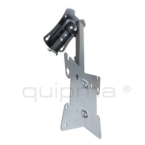 Dachschrägenhalterung/Deckenhalterung quipma 255, klappbar, schwenkbar, Traglast 20kg, bis VESA 200 x 200mm, schwarz