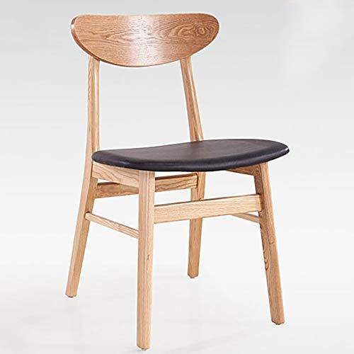 Y Dwayne Dining Chair Solid Sedia in Legno Sgabello casa nordica bracciolo Indietro Tavolo da Pranzo Sedia da Ufficio 3 Colori (Color : C)