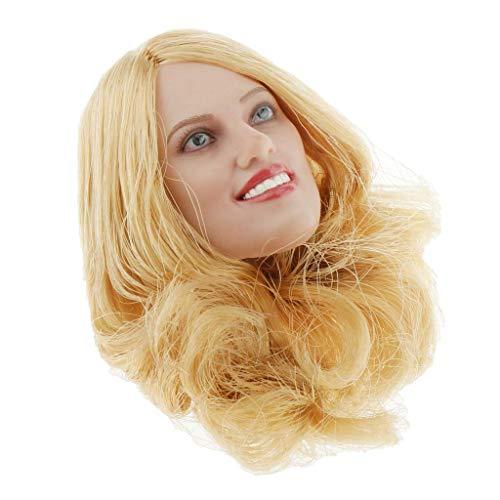 YYHJ C-IDJRDDF Kopfschmuck für 12 weibliche Mädchen und Frauen, Maßstab 1/6, für europäische und amerikanische Schönheit