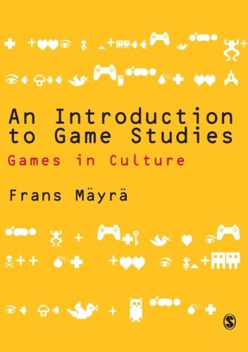 An Introduction to Game Studies by Frans Mayra(2008-03-03)