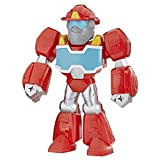 Transformers Playskool Heroes Rescue Bots Academy Mega Mighties Heatwave The Fire-Bot 10-Inch Robot Action Figure, Collectible Toys for Kids Ages 3 and Up