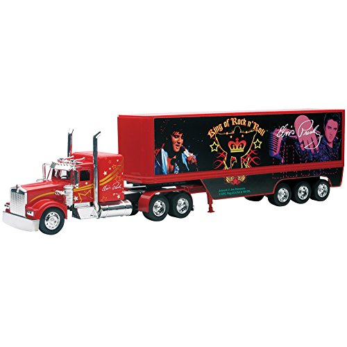 New Ray Toys Diecast Kenworth Elvis Truck - The Blue Suede 1:32 Scale by New Ray