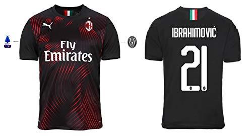 AC Mailand Trikot Herren 2019-2020 Third Serie A - Ibrahimovic 21 (M)