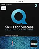 Q: Skills for Success: Level 2: Reading and Writing Student Book with iQ Online Practice (Q Skills f...