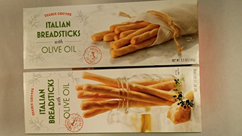 Trader Joe's Trader Giotto's Italian Breadsticks with Olive Oil (2 Pack)