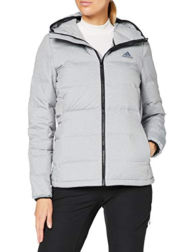 adidas W HELIONIC Mel Sport Jacket, Mujer, Medium Grey Heath