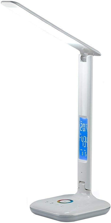 SGWH LED-Tischlampe, Lesen Augenschutz Schreibtischlampe Touch LED-Tischlampe Dimmbare Bürolicht 3 Arten von Lichtmodus 4W Weie Farbtemperatur 2800K-6000K