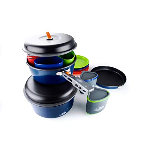 Product Image 1: GSI Outdoors, Bugaboo Backpacker, Nesting Cook Set, Superior Backcountry Cookware Since 1985
