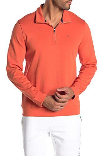 Orange Yellow Gradient Sweater Men