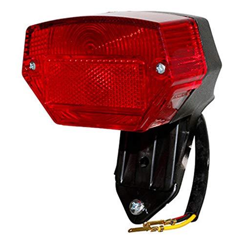 P2R (Motorisã©) achterlicht Cyclo Passend Puch 50 Maxi-krijtters 50 floret rood -selectie P2R