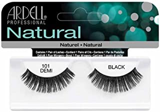 Ardell Fashion Lashes, 101 Demi Black, 1 Pair (Pack of 3)