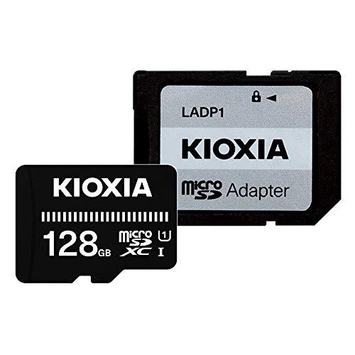キオクシア(KIOXIA) 旧東芝メモリ microSDXCカード 128GB UHS-I対応 Class10 (最大転送速度50MB/s) 国内正規保証品 3年保証 Amazon.co.jpモデル KTHN-MW128G