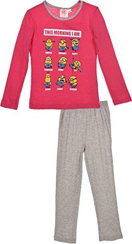 Minions Ich einfach Unverbesserlich Schlafanzug Pink 104 (4 Jahre)