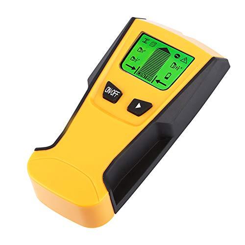XMAGG® 3 en 1 Detector de Pared con Pantalla LCD para Detecta AC Cable, Azulejos, Metal Tuberías Madera y AC Cable