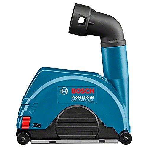 Bosch Professional Absaughaube GDE 125 FC-T zum Trennen (geeignet für viele Bosch Professional Winkelschleifer mit werkzeuglosverstellbare Schutzhaube, Scheiben-Ø 115 mm und 125mm, im Karton)