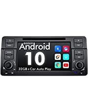 eonon GA9450 7 inch LCD Android 10 Car Stereos voor BMW 3 Series E46 touchscreen auto GPS NAV-satel met 2 GB RAM 32G ROM DVD ondersteuning Bluetooth 5/WiFi/Fast Boot/Backup Camera