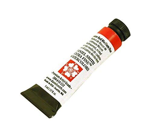 DANIEL SMITH 284610222 Extra Fine Watercolors Tube, 5ml, Cadmium Red Medium Hue