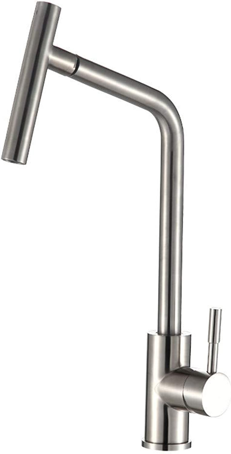 Oudan Lead-Free Microphone 304 Kitchen Faucet redatably Vegetables Basin MixerS65-UE6589321834 (color   -, Size   -)