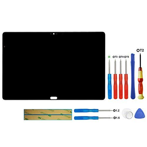 swark LCD-display compatibel met Huawei MediaPad M5 Lite LTE tablet 10,1 inch zwart touchscreen + tools