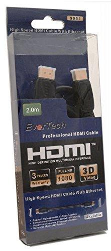 Evertech 2-Meter HDMI HighSpeed...