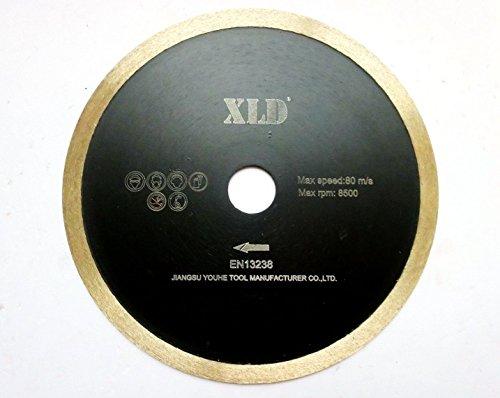 XLD Koudgeperst Continu velgzaagblad, Perfect voor het snijden van keramische tegels, graniet, marmer en zo op, Grade A, 10 Inch, Verkoop rechtstreeks door XLD Fabrikant (grootte: segmenten H 7)