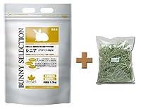 イースター バニーセレクション シニア 1.3kg + 牧草市場スーパープレミアムチモシー1番刈りお試しサイズ100g