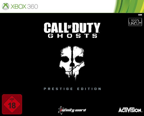 Call of Duty: Ghosts - Prestige Edition (100{e9c84d649b63b187a3aa80b383908570962f51fc31129066f89838453abcc80e} uncut) - [Xbox 360]