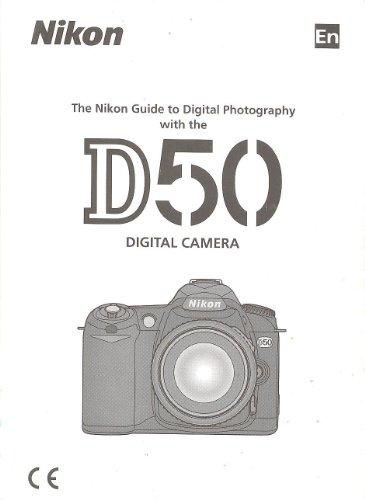 Nikon D50 Digital Camera ORIGINAL Instruction Manual