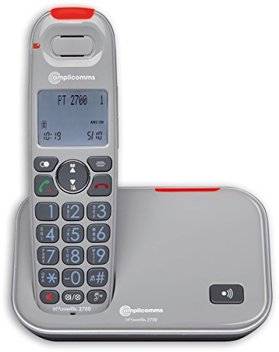 amplicomms PowerTel 2700 Großtastentelefon Grau