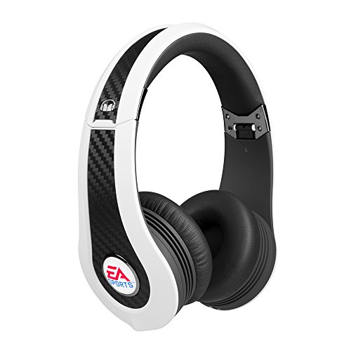 Monster MVP Carbon by EA Sports OnEar Gaming-Headset (PS3, Xbox 360, Wii, PC) weiß