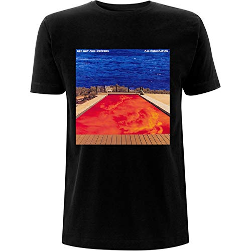 Red Hot Chili Peppers Californication T-Shirt schwarz L