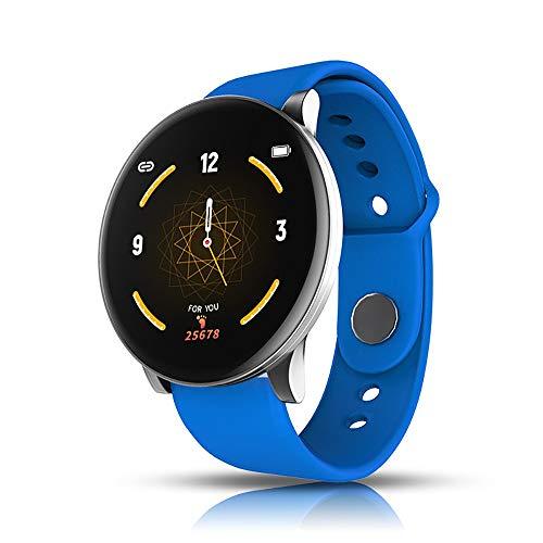 YAUUYA Bluetooth Smart Watch Smartwatch Meerdere modi van oefening Tracker met Hartslag Slaap Monitor Stappen Counter SMS Herinnering Activiteit Waterdicht IP67 Mannen en vrouwen voor Android iOS